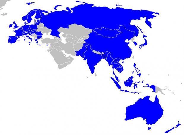 Україна хоче стати членом ASEM