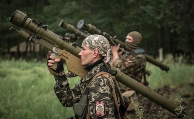 Militants continue to attack Ukrainian army positions in Luhansk / Photo from militants' Web site