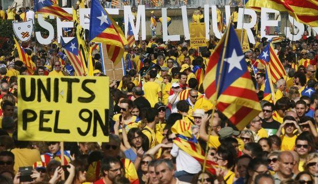 В Каталонии проходят местные выборы, которые могут привести к независимости от Испании