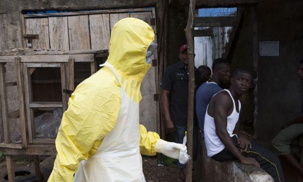 Эбола, Либерия / REUTERS