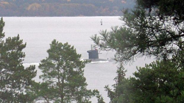 В Швеции заявили, что подлодка была разведчиком / фото VÄSTERÅS