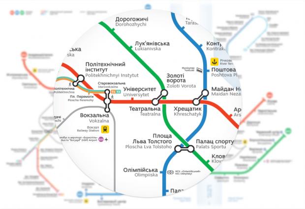 Новые карты включают схему скоростного трамвая / skliarevsky.org