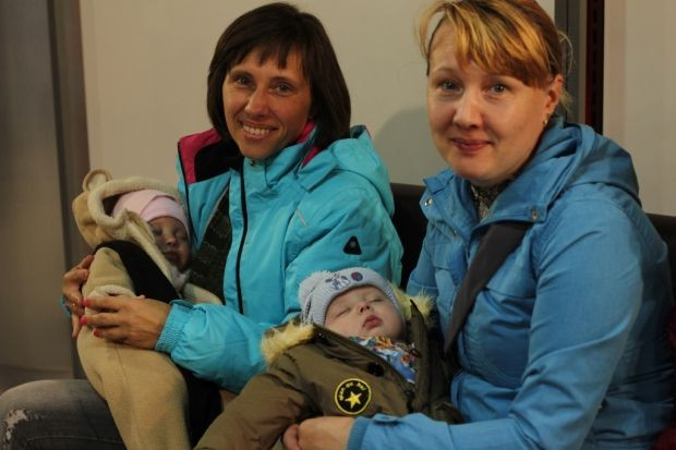 дети Гуманитарный штаб Ахметова / Фото: Пресс-служба Фонда Рината Ахметова