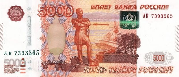 Russia's national currency is continuing to fall in value / ru.wikipedia.org