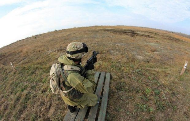 Силы АТО отвечают на обстрелы боевиков в районе Дебальцево / Фото пресс-службы Минобороны