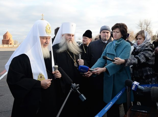 Патриарх Кирилл уехал в Саратов
