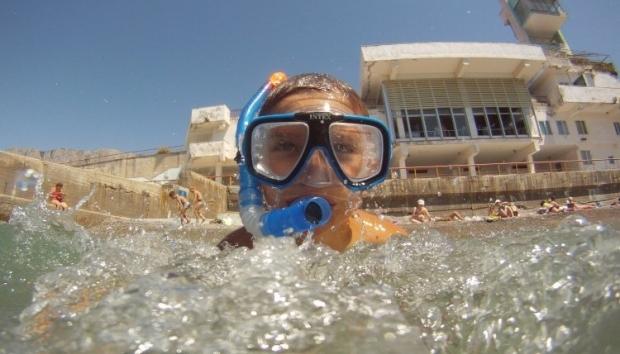 море алупка ялта пляж / Фото УНИАН