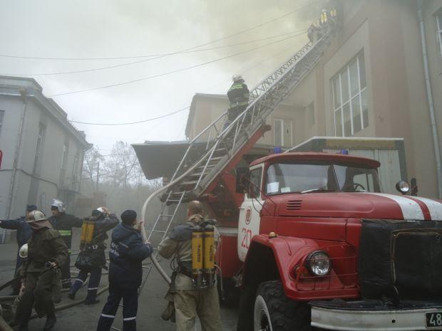 В настоящее время пожар локализован / фото mns.gov.ua