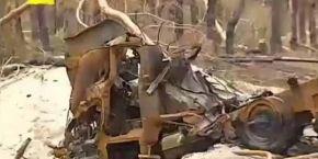 """Блокпост под Луганском военные назвали """"Сталинградом"""": бронированная техника горела, как спичка (видео)"""