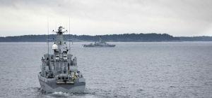 Поиски российской подлодки у шведских берегов