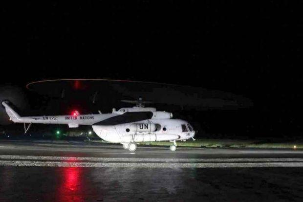 Українські пілоти вчилися виконувати рятувальні операції / Міноборони України