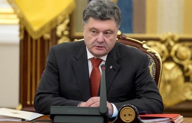 Почти половина украинцев довольна работой Порошенко / Фото УНИАН