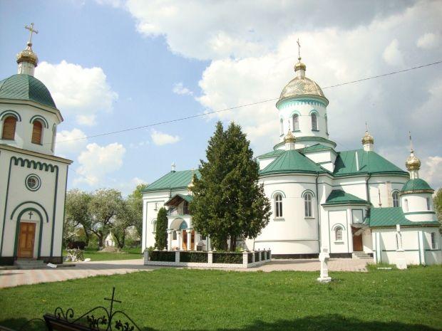 Миколаївська церква у селі Коритному