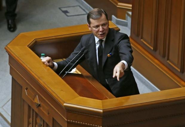Олег Ляшко на слушаниях в очередной раз использовал возможность попиариться / УНИАН