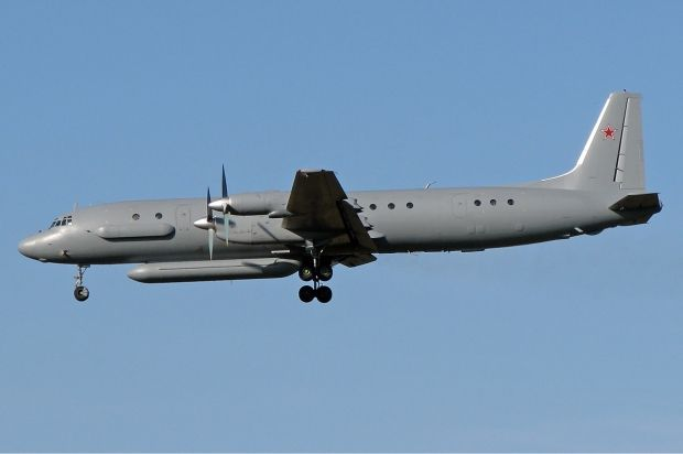 NATO fighters have again intercepted a Russian Il-20 spy plane over the Baltic / Photo from Wikimedia