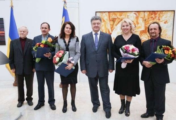 Відбулося вручення найпрестижнішої творчої відзнаки в Україні / Фото УНІАН