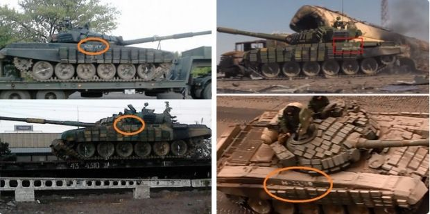German analyst Conflict Reporter has provided evidence of the presence of Russian tanks in Donbas / Photo from Conflict Reporter