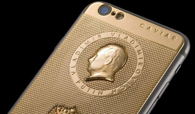iPhone, Путин / caviar-phone.ru