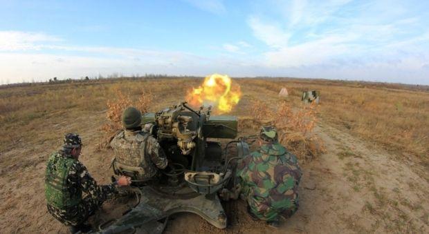 Photo from Ukrainian Defense Ministry press office