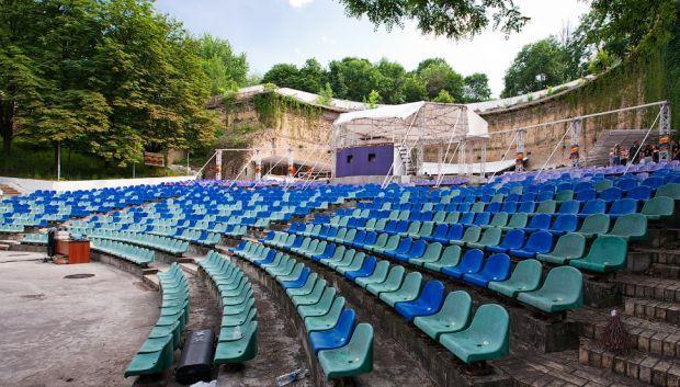 Зеленый театр вернули в коммунальную собственность Киева  / фото interesniy.kiev.ua