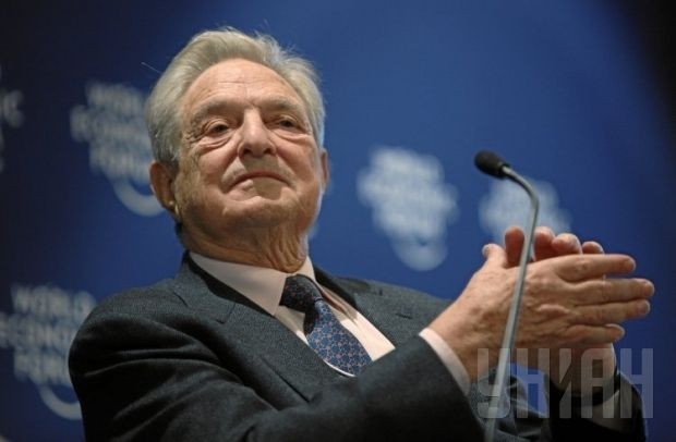 George Soros is on the lookout for funds to help Ukraine / Photo by UNIAN