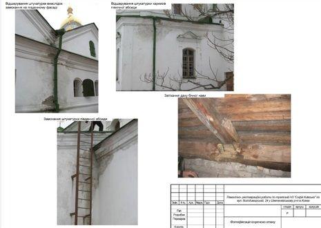 Фотографії проблемних ділянок Трапезної / nashigroshi.org