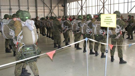 Росія проводить військові навчання у
