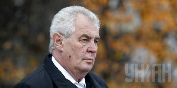 Zeman has said previously he doesn't think there are Russian soldiers in east Ukraine / Photo by UNIAN