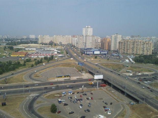Развязка на Осокорках / panoramio.com