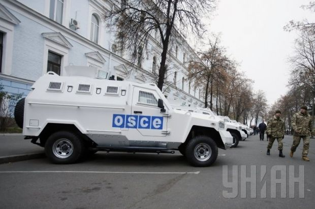 Ukraine lent another 10 armored cars to the OSCE last week / Photo by UNIAN