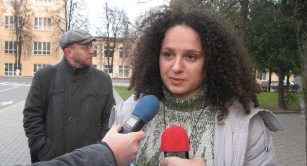Активистку оштрафовали за распространение проукраинских листовок / фото svaboda.org/