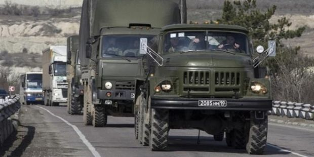 Russian military equipment continues to enter Ukraine / Photo from  kriminal.tv