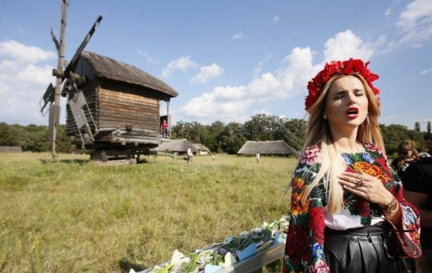 Старинные дома в киевском музее могут не дожить до весны / Фото УНИАН