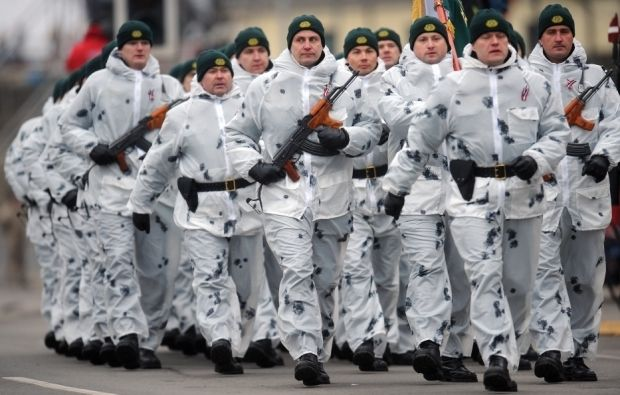 Латвия обустроит границу с Россией / freecity.lv