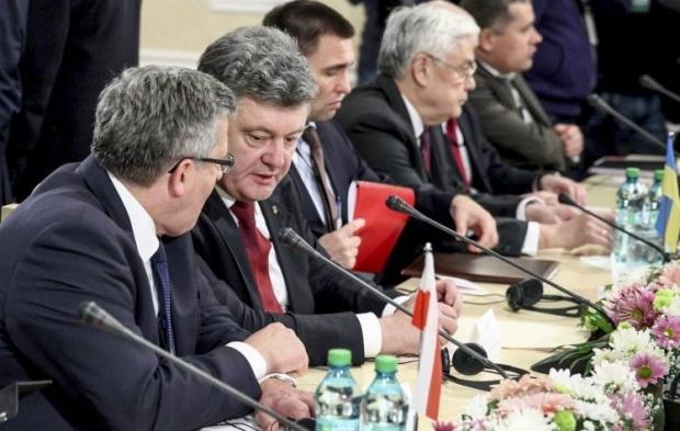 Порошенко находится с визитом в Молдове / Фото УНИАН