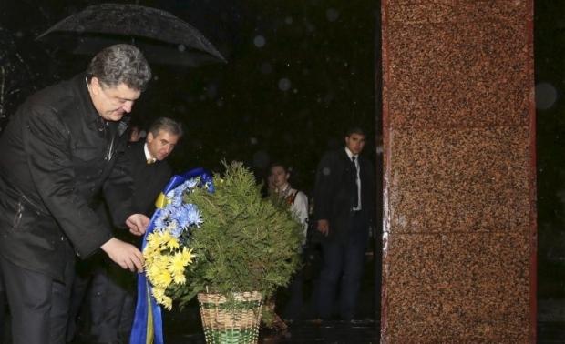 Порошенко відвідав Молдову / УНІАН