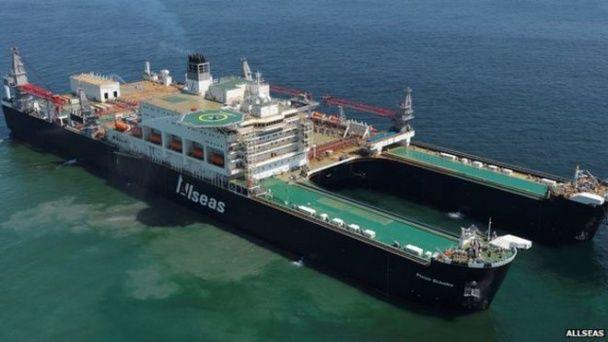 Найбільше у світі вантажне судно