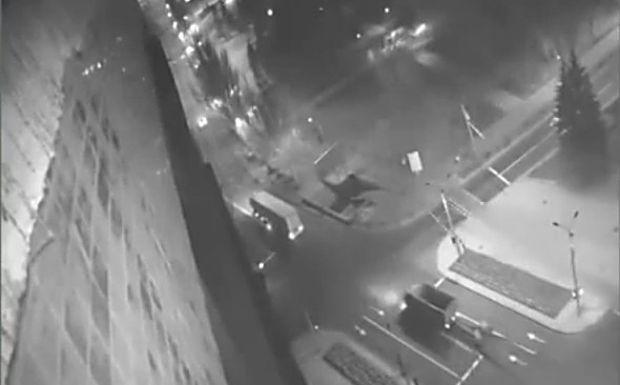 Конвой перевозит оружие для боевиков / Скриншот видео СНБО