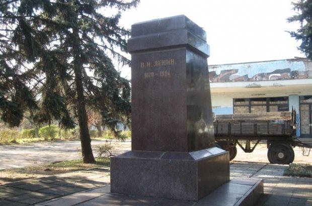 Еще один памятник Ленину снесли / nikopol.dp.ua