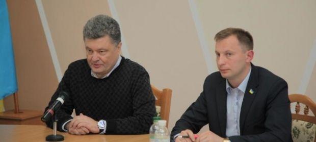 Петро Порошенко та Степан Барна / ternopilinfo.com
