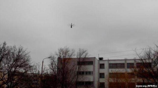Над Керчью летают военные вертолеты / Радио Свобода