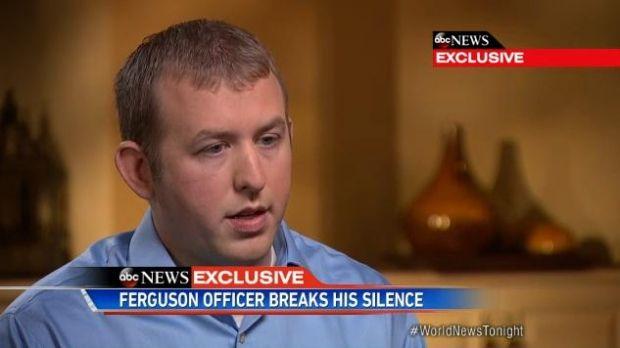 Офицер Уилсон рассказал об обстоятельствах смерти подростка / ABC News