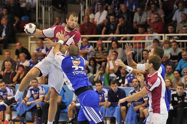 Сергей Бурка попал в символическую сборную тура Лиги чемпионов / handball.motorsich.com