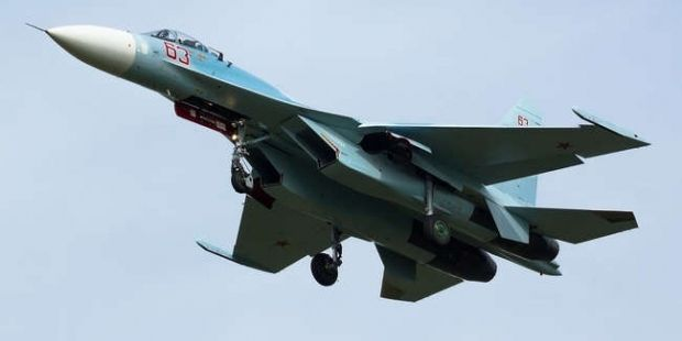 An SU-27 fighter jet / Photo from vonsolovey.livejournal.com