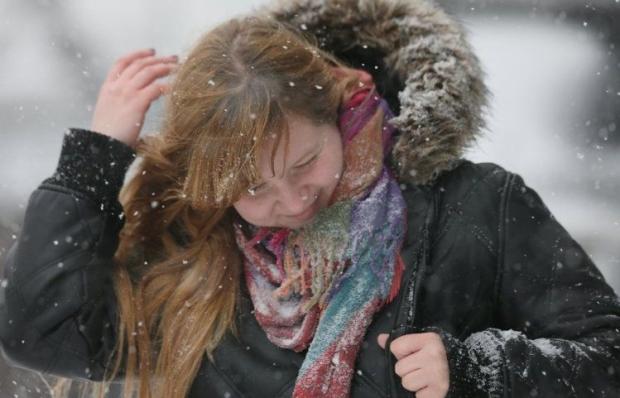 Осень в Украине заканчивается снегопадами / Фото УНИАН