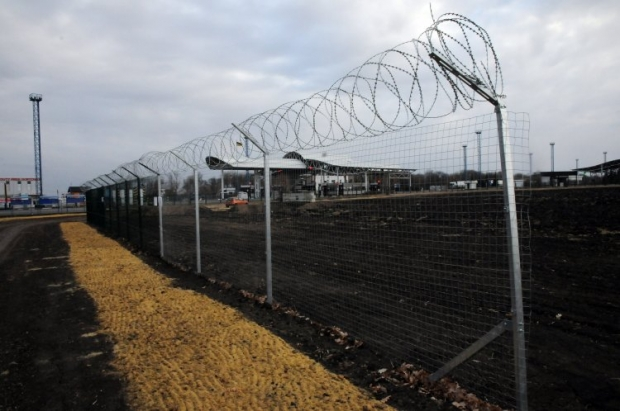 Украина начала строить «Стену» вЛуганской области