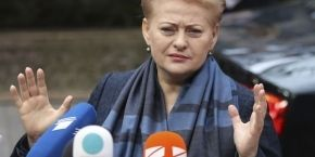 Lithuanian president again accuses Russia of terrorism