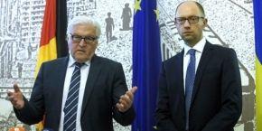МЗС Німеччини: Україна не буде членом НАТО і поки що рано говорити про її вступ до ЄС