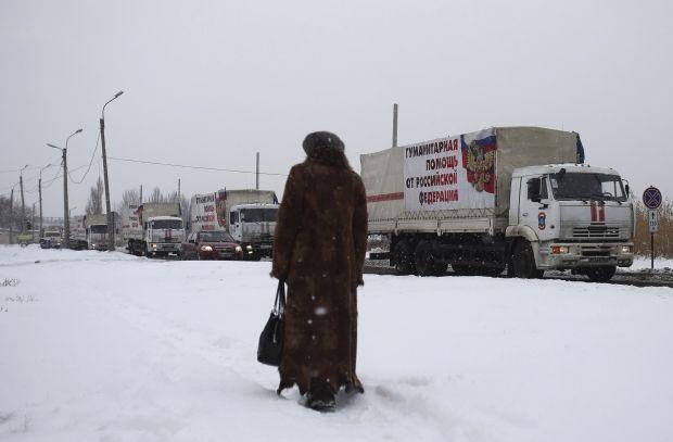 В україну зайшла 141 вантажівка так