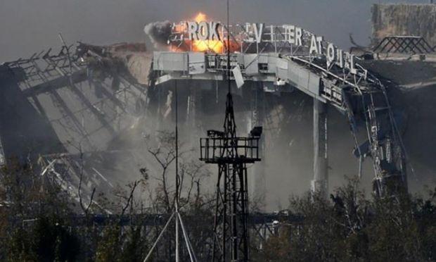 Украинские военнослужащие взорвали старый терминал донецкого аэропорта, - СМИ - Цензор.НЕТ 9934